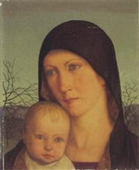 madonna mit kind by wilhelm haller