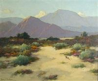 desert in bloom by henry leopold richter