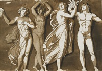 antikiserande figurer by jonas akerstrom