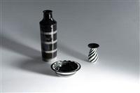 zwei vasen und eine schale by hedwig bollhagen