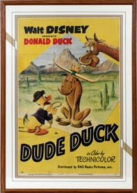 dude duck by walt disney
