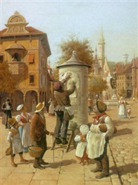 in the market place by victor goulard