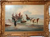 fisher folk by w. richards