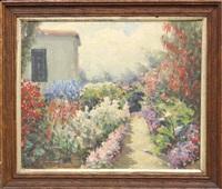 garden pathway in monterey by william adam