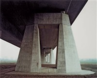 a 14, saalebrücke beesedau /3, from the series traffic projects by hans-christian schink