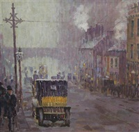 ocford rd., manchester by adolphe valette
