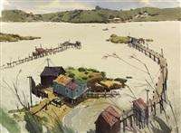 benecia fishing piers by jade fon