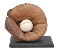 glove and ball by carole a. feuerman