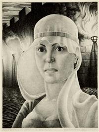 building twelfth night (+ lady macbeth, a self portrait; 2 works) by kyra markham