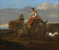 figures and livestock by nicolaes berchem