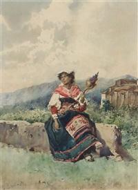 garnwicklerin by daniele bucciarelli