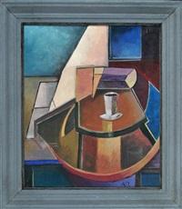 interieur mit tasse auf tisch by antoine pevsner