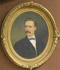 portrait of a man by seymour joseph guy