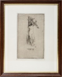 female nude by charles holroyd