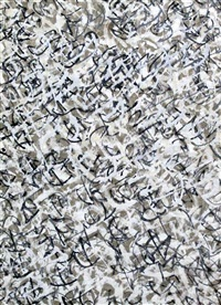 calligraphy in key - hommage to gerard manley hopkins, marrakesh by brion gysin