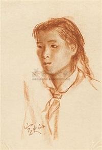 少先队辅导员 (young pioneer counsellor) by qin xuanfu