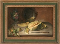 bodegón con melón by josé felipe parra