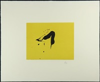 black sun (from octavio paz suite) by robert motherwell
