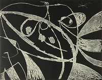 untitled from the mallorca series by joan miró