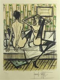 jeux de dames by bernard buffet