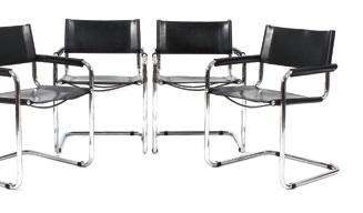 4 Freischwinger S 34 Chairs Set Of 4 Von Mart Stam Auf Artnet