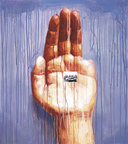 my left hand series by sheng qi