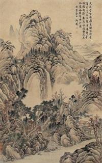 曲江秋光 by zhang zongcang