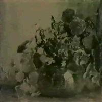 still life of nasturtiums by anna s. fischer