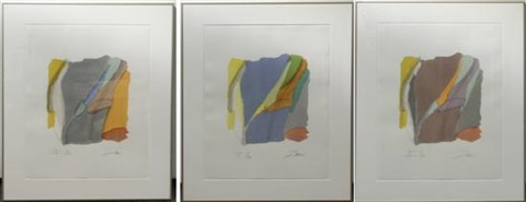 untitled i ii iii iv v vi 6 works by larry zox