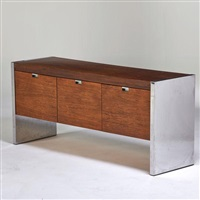 cabinet with three file drawers by roger sprunger