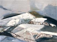 高原银色 (a silver plateau) by bai yuping