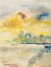 武汉东湖 by liang xihong