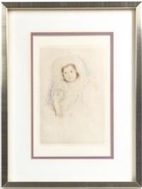 portrait of a girl by mary cassatt