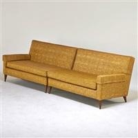 two-piece sofa by paul mccobb