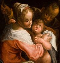 heilige familie by hans von aachen