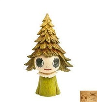 森林女孩 by yoshitomo nara