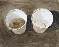 两个杯子 by zhang enli