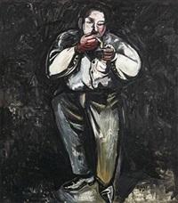 吸烟者 by zhang enli