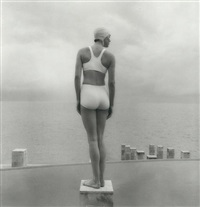 mother, florida (+ bather: woman on podium; 2 works) by sally gall