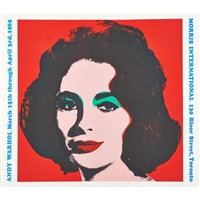 liz morris international by andy warhol
