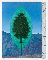 最终的世界 by rené magritte