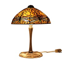 tischlampe dragonfly by tiffany studios
