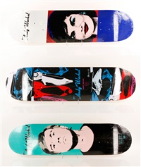 alien wordshop skateboard decks by andy warhol