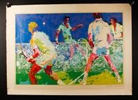 tennis by leroy neiman