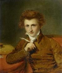 portrait de m. duval by firmin massot