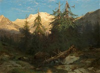souvenir de la handeck by alexandre calame