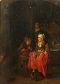 a tavern interior by egbert van heemskerck the elder