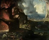 höllenlandschaft by hieronymus bosch