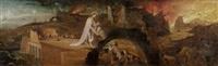 christus im limbus by hieronymus bosch
