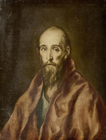 portrait eines älteren mannes by el greco